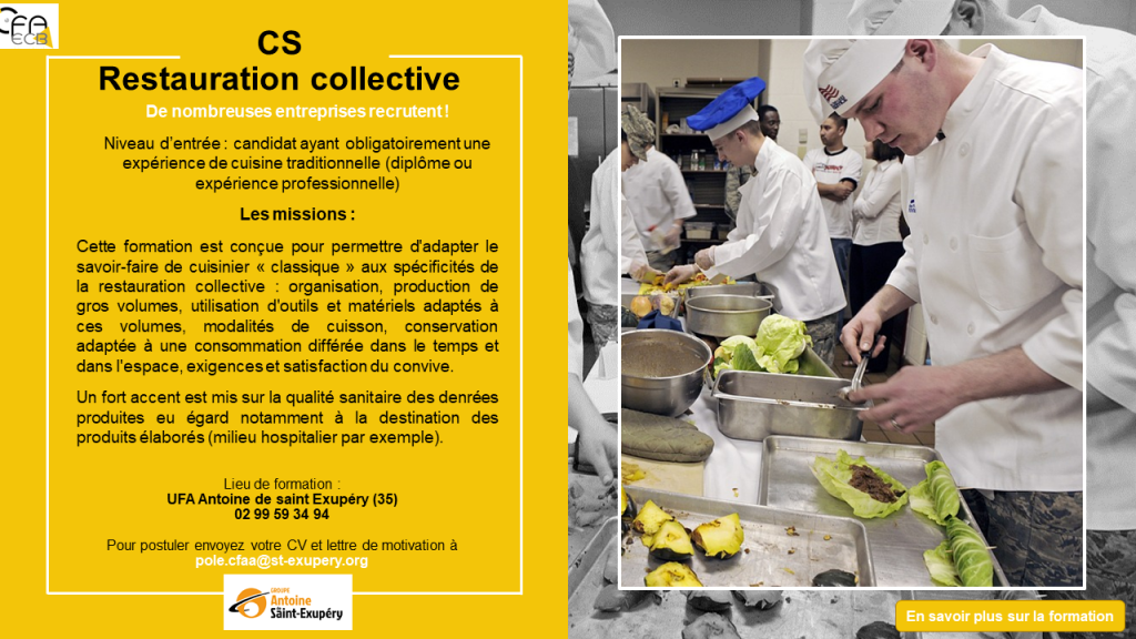 cs restauration collective
